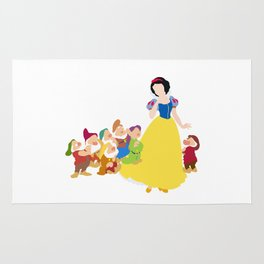 Snow White and the Seven Dwarfs Rug