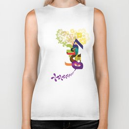 Flowers of Simele Biker Tank