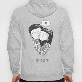 Black and White Love Hoody