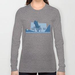 Jurassic Park poster - feat. Donald Gennaro Long Sleeve T-shirt