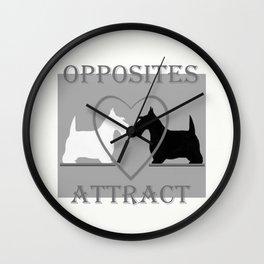Scotty Dogs  Wall Clock