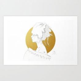 MELLOW GOLD (Steal My Body Home) Art Print