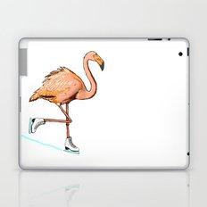 Flamingo on ice Laptop & iPad Skin