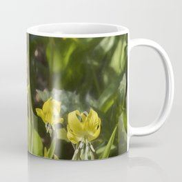Glacier Lily Painterly Coffee Mug