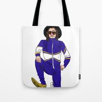snl Tote Bags featuring snl Harry by believeinbritboys
