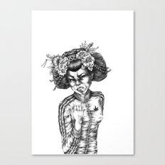 Culture Shock Canvas Print