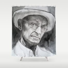 HERMANN HESSE Shower Curtain