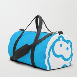Blue hippo Duffle Bag