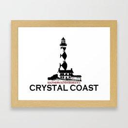 Crystal Coast - North Carolina. Framed Art Print