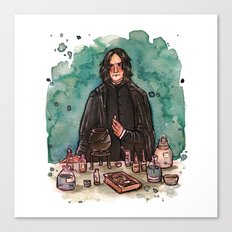 Severus Snape, potions master Canvas Print