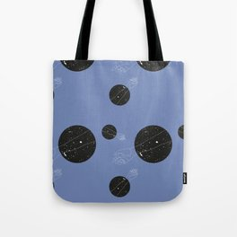 Through the window - Purple #pattern Tote Bag