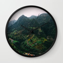 Paradise Mountain Wall Clock