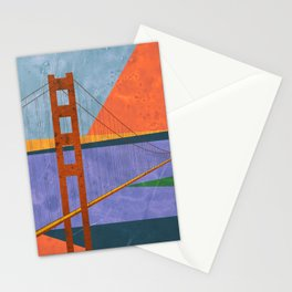 Golden Gate Bridge II Stationery Cards