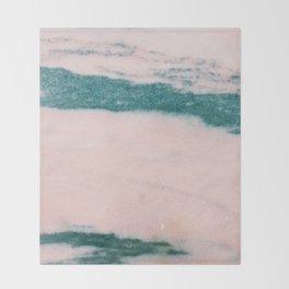 Pastelle Marble Throw Blanket