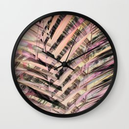 Tropical Palm III Wall Clock