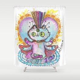 Mystic Cat Shower Curtain