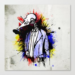 I am the Voice of my People Canvas Print