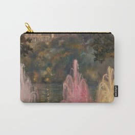 Fountain at Pernes-Les-Eaux, Provence, France by Laura Sylvia Gosse Carry-All Pouch