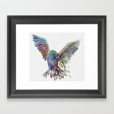 Geometric Owl Framed Art Print