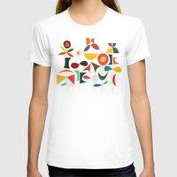 garden T-shirts featuring Klee's Garden by Picomodi