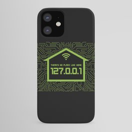 There's No Place Like Home 127.0.0.1 iPhone Case