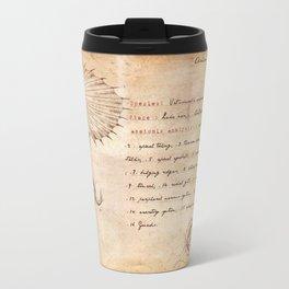 Miskatonic surgery - Elder Thing  (Vetusincola echinomorpho) Travel Mug