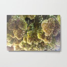 Farmstand Flowers Metal Print