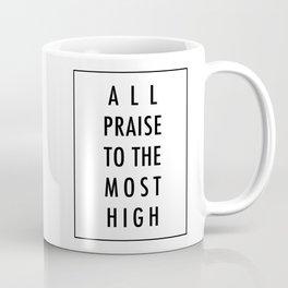 All Praise x Black Coffee Mug