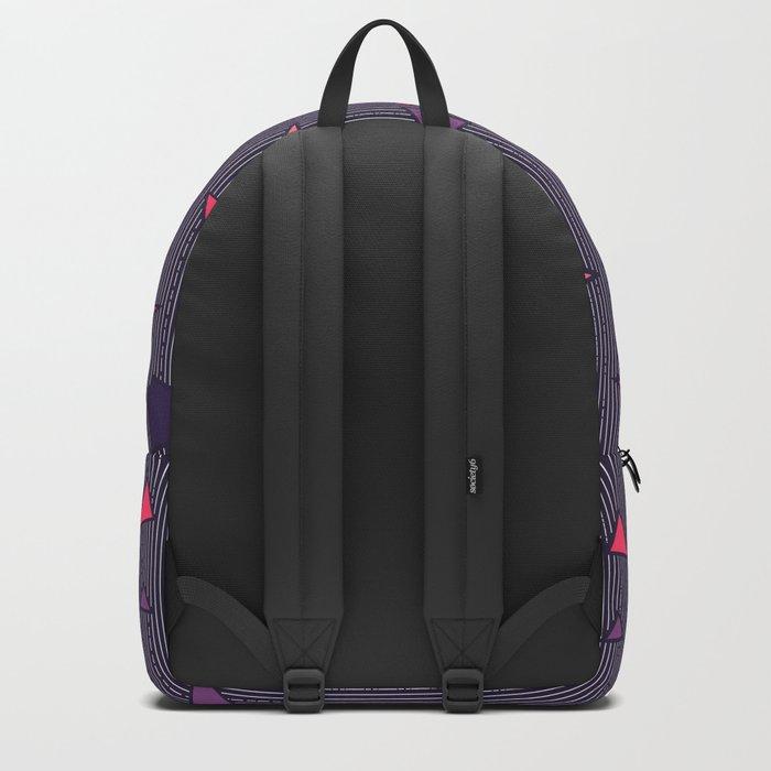 Triangles Rain #society6 #decor #buyart Backpack