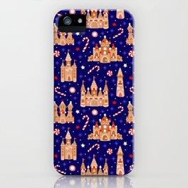 Gingerbread Castles iPhone Case
