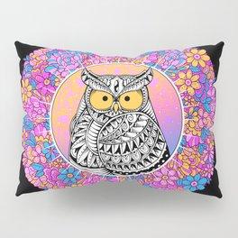 Spring Owl Pillow Sham