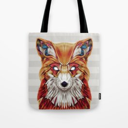 """Firefox"" by Giulio Rossi Tote Bag"
