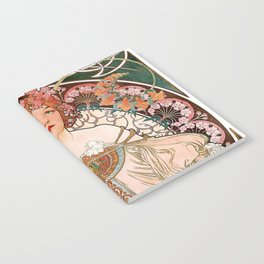 """Alfons Mucha, """" F.Champenois """" Notebook"""