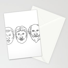 Morphing from Young Adult Middle Age Drawing Stationery Cards