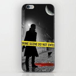 Crime scene do not enter iPhone Skin