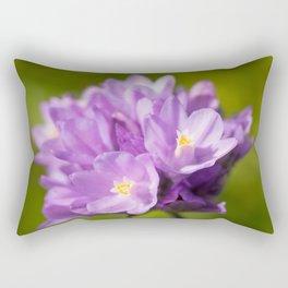 Dichelostemma Capitatum Wildflower Rectangular Pillow