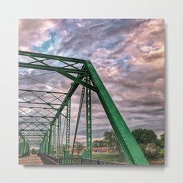 The Green Bridge 2 Metal Print
