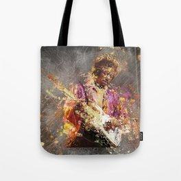 Jimi Vintage Art Tote Bag