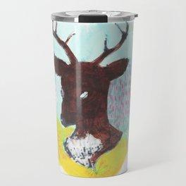 The Painterly Deer Travel Mug