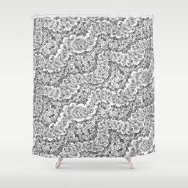 Fizz Fancy Shower Curtain