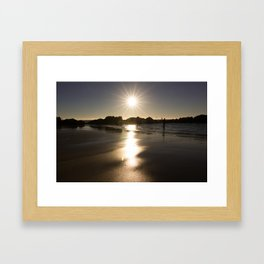 Ball Of Fire Framed Art Print