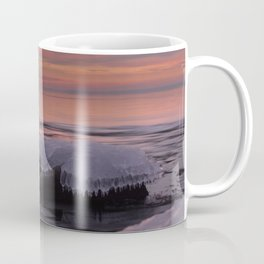 Icy Watercolor Sunrise Coffee Mug