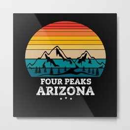 FOUR PEAKS Arizona Metal Print