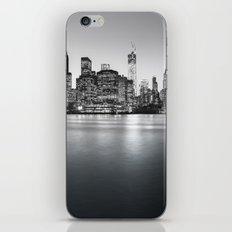 New York City Skyline - Financial District iPhone & iPod Skin