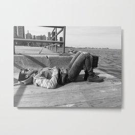 Down by the Docks Metal Print