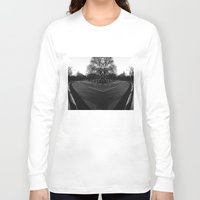 central park Long Sleeve T-shirts featuring Central Park by Claudia Araujo