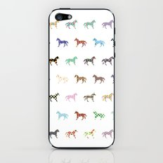 Colorful Horses Lantern Pattern  iPhone & iPod Skin