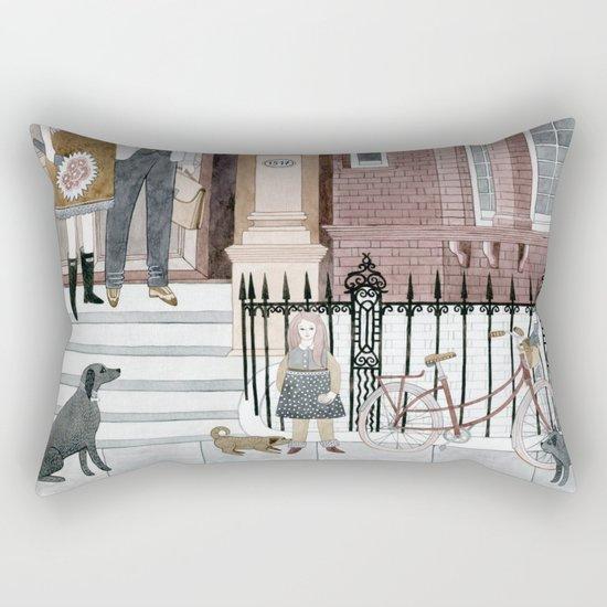 Family Out Rectangular Pillow
