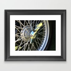 MG Bolt Framed Art Print