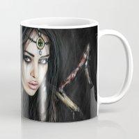 gypsy Mugs featuring Gypsy by Justin Gedak